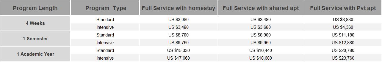 Nanjing University Program Prices (NEW)